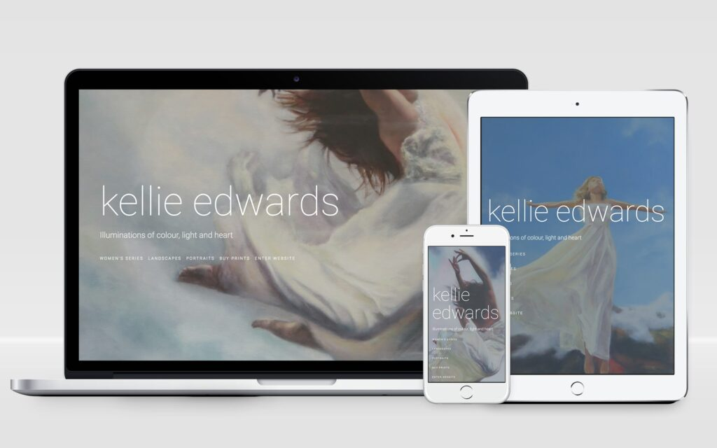 Kellie Edwards Website