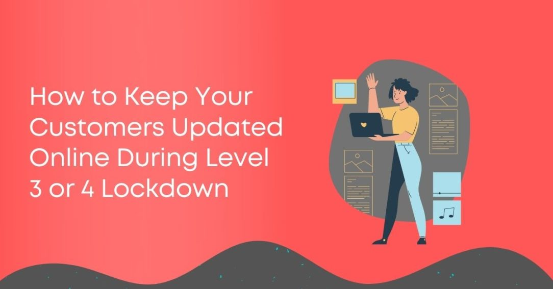 How to Update your Online Business Level 4 Lockdown
