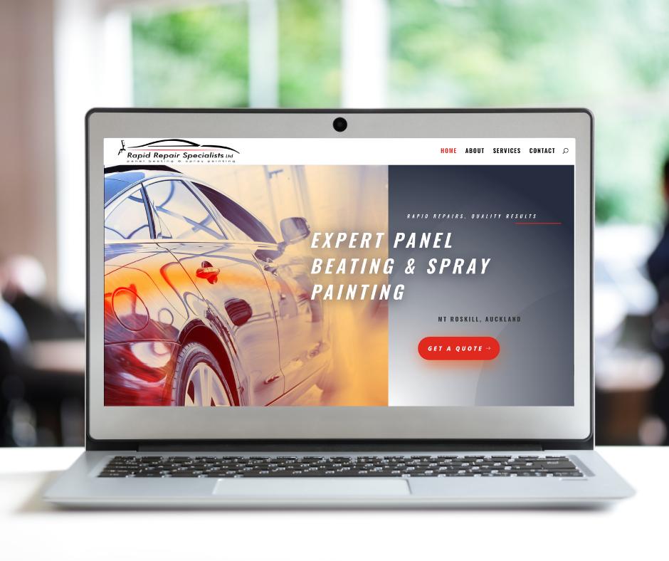 Rapid Repair Website